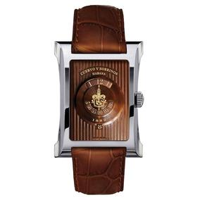 Reloj Cuervo Y Sobrinos Tobacco 2412.1t82 Ghiberti