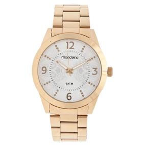 Relógio Feminino Mondaine Dourado Original