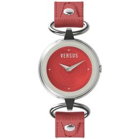 Versus De Versace 3c68000000 Versus V Esfera Roja Con