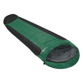 Saco De Dormir Nautika Mummy Preto/verde