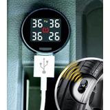 Sensor Medidor Digital De Pressão Pneu Kit Calibrador Pneus
