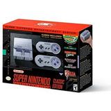 Consola Nintendo Snes Mini (super Nintendo) Nuevas