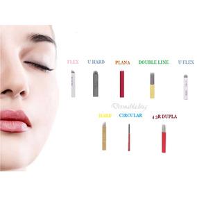 Lâminas P Tebori Compre 200 Tebori Luxo Brinde Dermablading