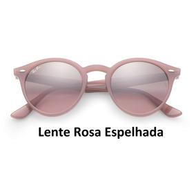 1d7508a869e46 De Sol Ray Ban Round Sao Paulo Rio Claro Cor Principal Rosa - Óculos ...