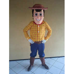 Fantasia - Yudi (toy Story) - Personagem Vivo - Completo