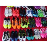 Zapatillas Spikes Clavos Atletismo Salto Nike Y adidas