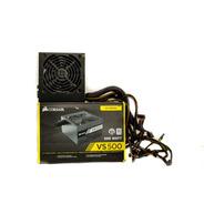 Fonte Atx 500w Real Watts Pc Gamer 80 Plus Corsair Vs500