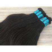 Mega Hair 100gr Liga Azul 75cm Barato