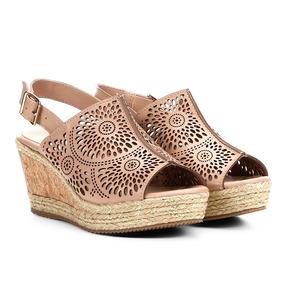 266771feac Anabela Tamanco Em Cortiça Com Corda 35 Essencial Online - Sapatos ...