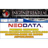 Neodata Con Bases De Datos Agosto2018 Opus 2014 Civilcad Y +