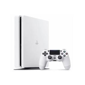 Playstation 4 Branco Slim Sony 500gb Ps4 Original Bivolt
