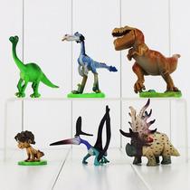 Pacote C/ 6 Miniaturas Do Bom Dinossauro - A Pronta Entrega