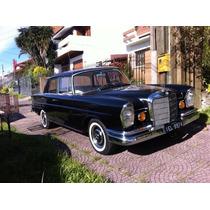 Mercedes Diesel 1965 - Raro Placa Preta