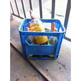 Cajones De Soda (35) Con 210 Sifones Plasticos En Uso