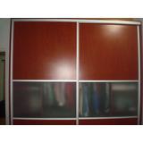 Espectacular Y Moderno Closet, 2 Puertas Corredizas, Oferta!