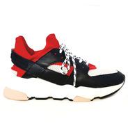 Tênis Sneakers Carrano Tecido Colmeia E Couro 160401