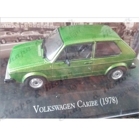 Vw Caribe Golf Mk1 1978 Euro Coleccion 1:43 Verde Oem Sym
