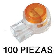100 Conectores De Cables  Uy  Para Cable Calibre 24