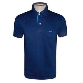 Camisa Colcci Gola Polo Camiseta Azul Escuro