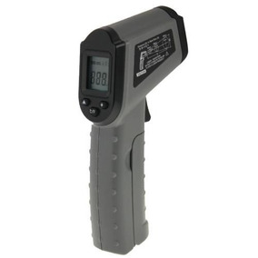 Thermometer Infra-red Thermoscope Dt-8500 Lcd Digital Gris