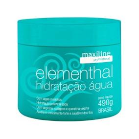 Maxiline Hidratação Elementhal Água Profissional 500g