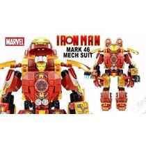 Lego Armadura Hulk Buster Boneco Homem De Ferro Mk46