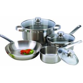 Batería De Cocina Cookpro 503 503 18/10 Acero Inoxidable 7 U