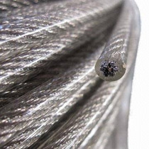 Cable De Acero Con Recubrimiento Pvc 7x19 3/16-1/4 Y 150 M