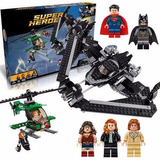 Super Heroes Batman,superman Bloques 7118 Armables Tipo Lego