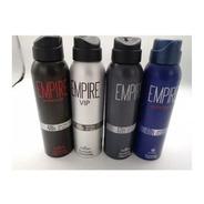 Desodorante Aerosol Spray 150ml 90g Empire Lattitude Hinode