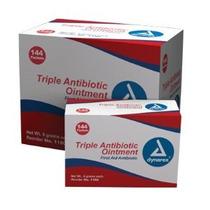 Dynarex 1180 Triple Antibiótico Ungüento Paquetes 0.5g Box /