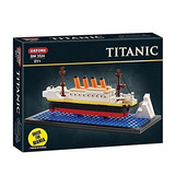 Edificio De Titanic Oxford Mini Bloque Ladrillo Kit Bm3524