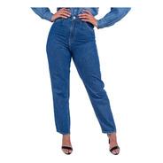 Calça Jeans Mom Feminina Revanche Cristina