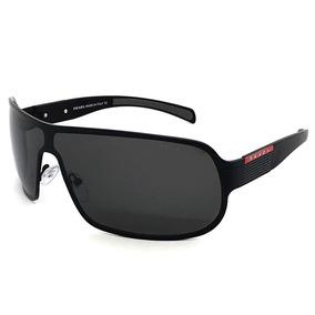 Oculos De Sol Masculino Premium Máscara Pr Polarizado