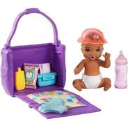 Bebê Barbie Skipper Babysitters Com Bolsa De Fraldas Comida