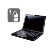 Laptop Toshiba Intel Atom Hdd 320gb Ram 1gb +dd 500gb