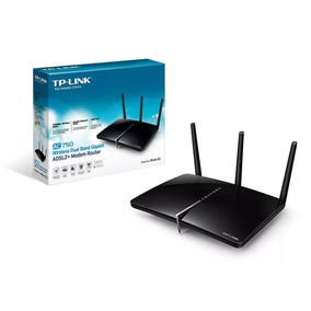 Modem Adsl Router Wifi Tp Link Archer D2 Dual Band Usb Giga