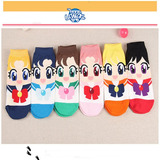 Calcetines De Algodón Serie Sailor Moon