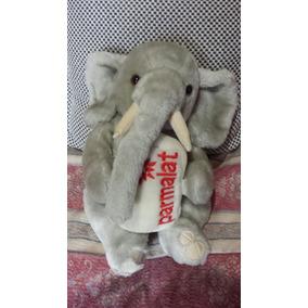 Pelúcia Parmalat Elefante Antigo Colecionador