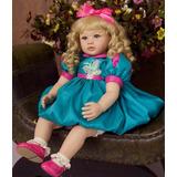 Boneca Bebe Reborn Marina Beatriz 55 Cm Sob Encomenda 117