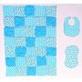 Veleros Y Pececitos Lindo Con Luz Azul Accent Impresiones B