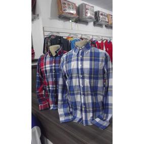 Kit 02 Camisa Masculina Xadrez Rodeio Country