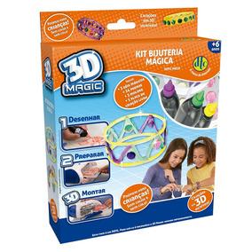 Refil Mega 3d Magic Dtc Kit Bijuteria Mágica