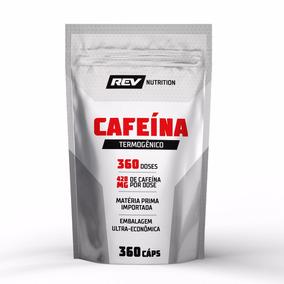 Cafeína Termogênico - 360cáps - Rev Nutrition