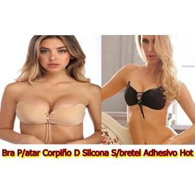 Bra P/atar Corpiño D Silcona S/bretel Adhesivo Hot V.urquiza