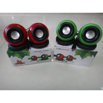 Cornetas Multimedia Speaker System Usb 2.0 2.5w*2