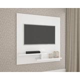 Painel Home Theater Para Tv Cloud 131 X 120 Cm Branco