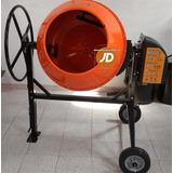 Mezcladora Para Concreto Medio Bulto Jd - Importada