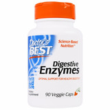 Enzima Digestiva Doctor Best 90 Capsulas Vegetarianas
