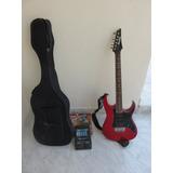 Guitarra Eléctrica Y Pedalera